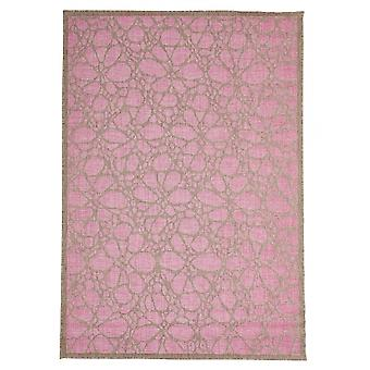 Outdoor carpet for Terrace / balcony contemporary Fiore pink 135 / 190 cm carpet indoor / outdoor - for indoors and outdoors