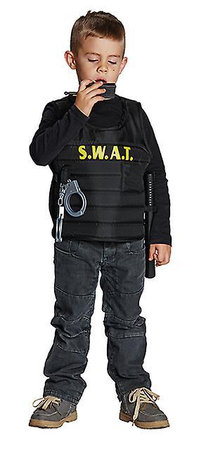 SWAT vest politi drakt for barn SEK