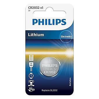 Philips CR2032 Lithium Batterie 3V