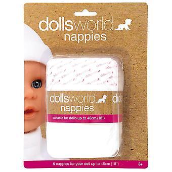 Poupées monde Pack Nappy