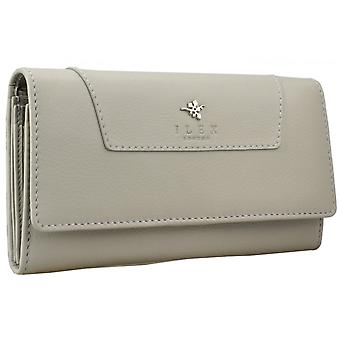 Ilex Women's Fold Over Long Leather Purse