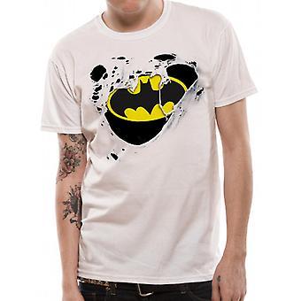 Batman - revet Logo (Unisex) T-Shirt