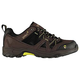 Gelert Mens Ottawa Low Walking Lace Up Textile Padded Ankle Collar Outdoor Shoes