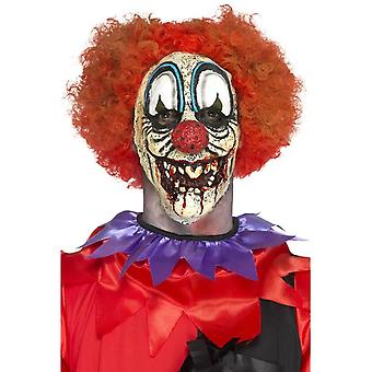 Deluxe Foam Latex Special FX Clown Prosthetic, Red, & Adhesive