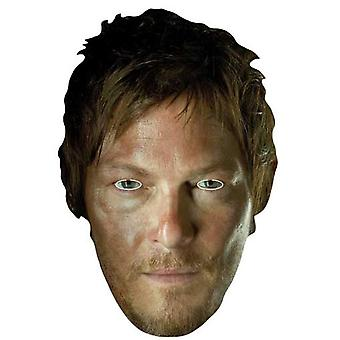 Daryl Dixon (Norman Reedus) The Walking Dead Party Card Fancy Dress Mask