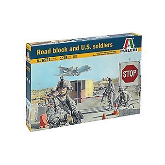Italeri 6521 amerikanska soldater lås Street figur