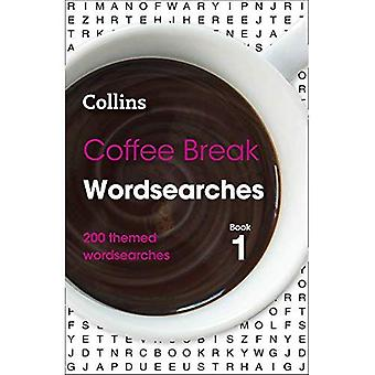 Wordsearches Coffee Break para reservar com temas wordsearches 1: 200