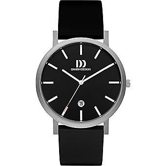 Eminem's DZ120438-men's wrist watch, black leather strap