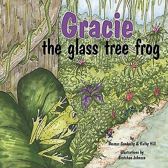 Gracie the glass tree frog by Sandusky & Thomas