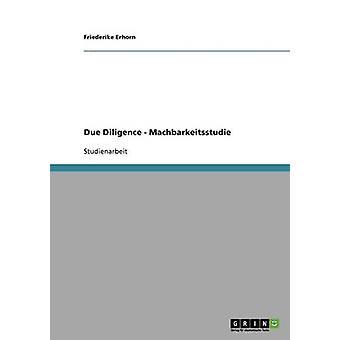 Due Diligence  Machbarkeitsstudie by Erhorn & Friederike