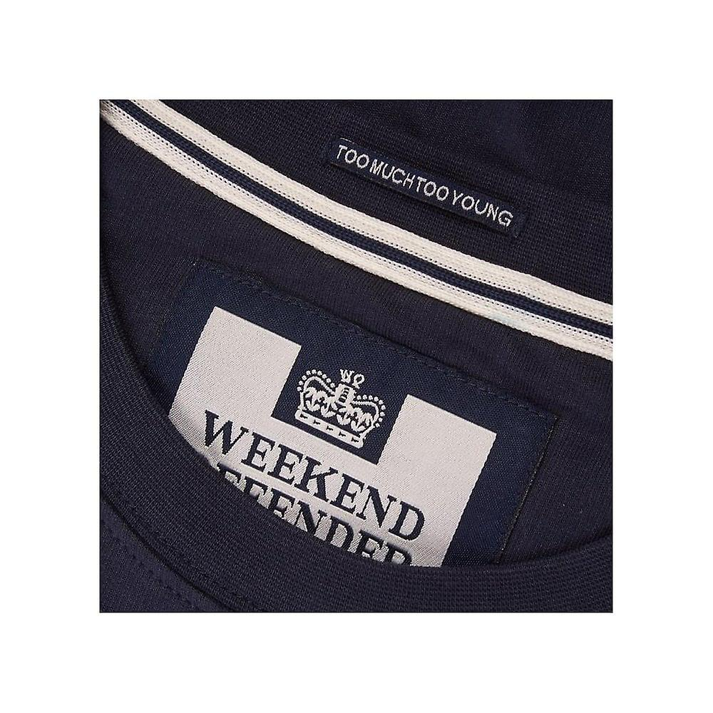 WEEKEND OFFENDER Navy Prison T-shirt