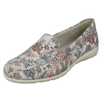 Ladies Remonte Slip On Shoes D1919