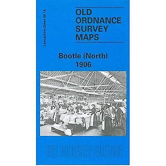 Bootle (North) 1906: Lancashire Sheet 99.14 (Old O.S. Maps of Lancashire)