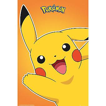Pokemon Official Pikachu Poster