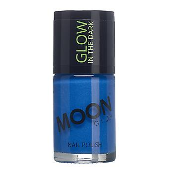 Glow - 14m gloed in de donkere Nail Varnish - Blue Moon