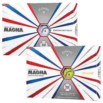Callaway Golf Unisex Super Soft Magna Golf Balls