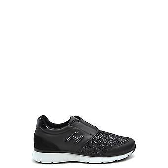 Hogan Ezbc030154 Damen's Schwarz Glitter Sneakers