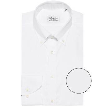 Stenstroms Fitted Body Cotton Shirt