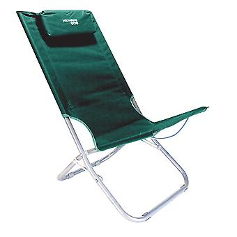 Yellowstone Folding Lounger Camping Scaun