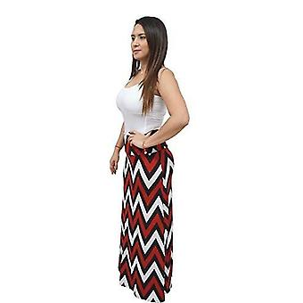 Dbg women's women's print color maxi full length skirts