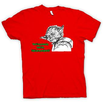 Kids T-shirt - Yoda - Sketch - Soon I Will Rest