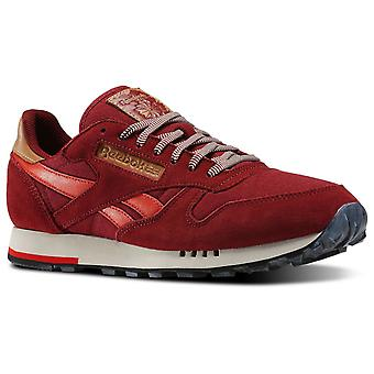 Reebok Men's Classic Leather Utility Trainers - V72845