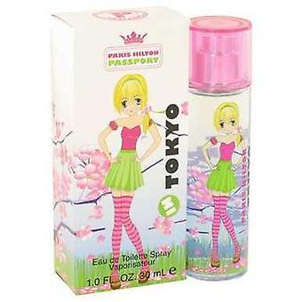 Paris Hilton Passport i Tokyo av Paris Hilton Eau de Toilette Spray 1 oz (damer) V728-501142