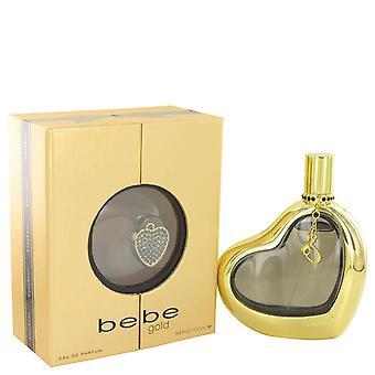 Bebe gold eau de parfum spray by bebe 499998 100 ml