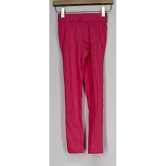 Slimming Options for Kate & Mallory Leggings Band Waist Pull-on Pink A408576