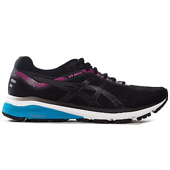 Asics GT-1000 7 Womens Ladies Running Exercise Fitness Trainer Shoe Black/Pink