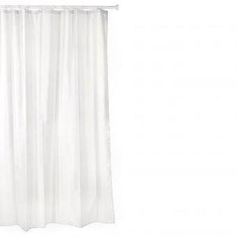 Tatay Polyester shower curtain 140 X 200 White (DIY , Hardware)