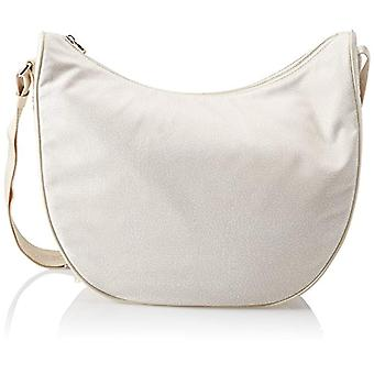 Borbonese 934777296 Women's Ivory Shoulder Bag (Cream) 35x38x15 cm (W x H x L)