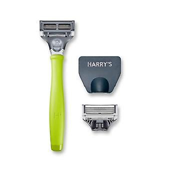 Harry ' s Scheer handvat + 2 cartridges tennis groen