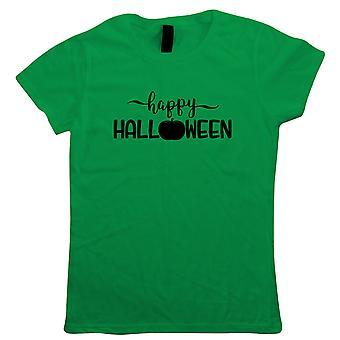 Feliz Halloween, camiseta feminina - Presente de Halloween sua mãe