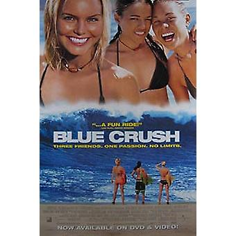 Blue Crush (video) alkuperäinen video/DVD-mainos juliste