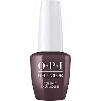 OPI GelColor Gel Color - Soak Off Gel Polish - You Dont Know Jacques 15ml (GC F15)
