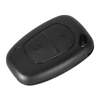 2 buttons remote car key case Renault Opel Nissan