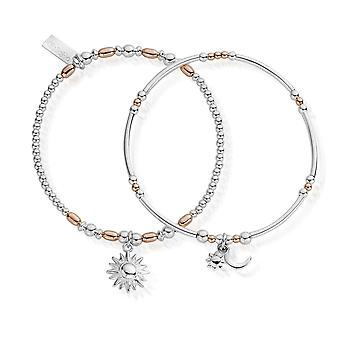 Chlobo Rose And Silver Dusk To Dawn Set Of 2 MBSET578582