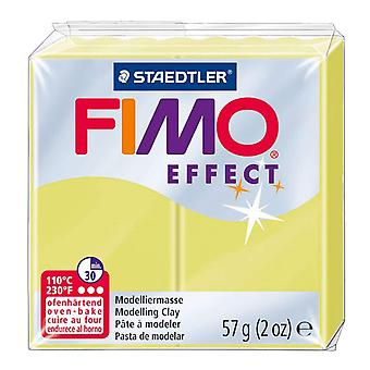STAEDTLER FIMO Effect 8020-106 Oven Hardening Modelling Clay, 57 g - Citrus