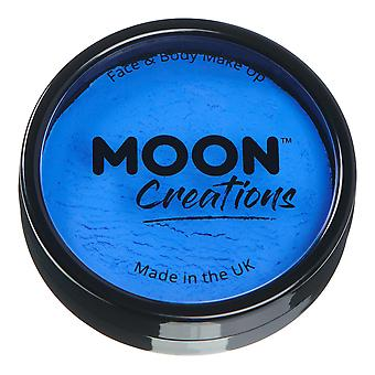 Moon Creations - Pro Face & Body Paint Cake Pots - Royal Blue
