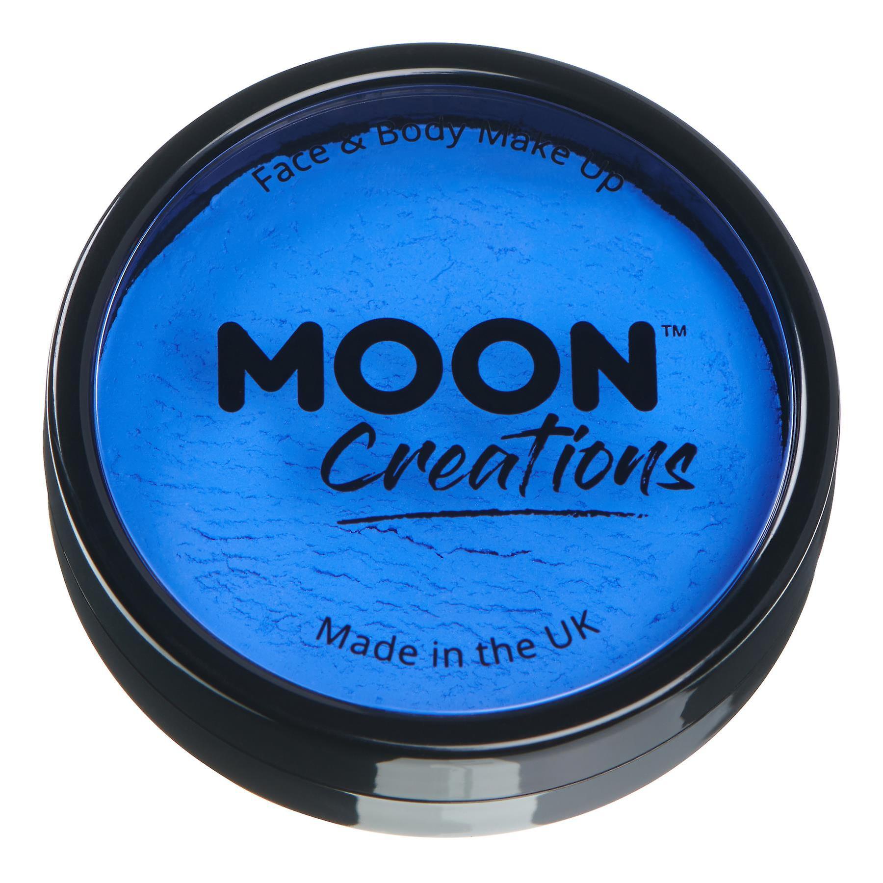 Moon Creations - Pro Face & Body Paint Cake Pots - Royal Blue