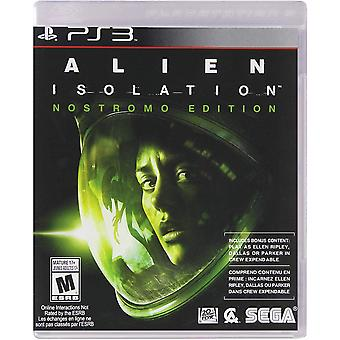 Alien Isolation Nostromo Edition PS3 Spiel