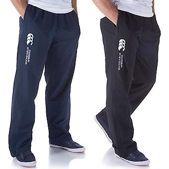 Canterbury Mens Open Hem Stadium Pant Heat Management Zip Pockets