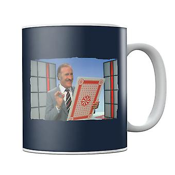 TV Times Bruce Forsyth On Game Show Play Your Cards Right Mug