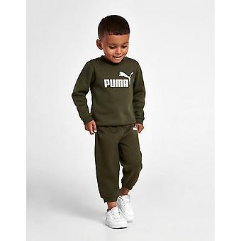 جديد بوما الرضع شعار الطاقم بدلة خضراء