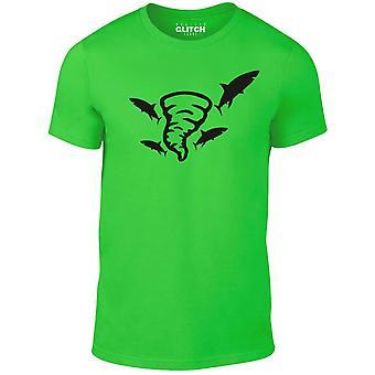 Mannen ' s sharknado t-shirt