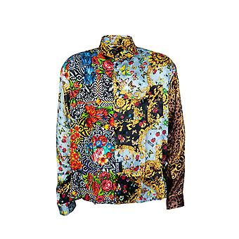 Versace Shirt Regular Fit Print B1gua621 S0527