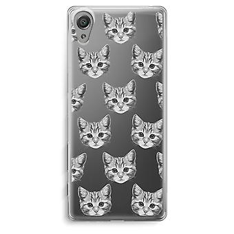 Sony Xperia XA Transparent Case - Kitten
