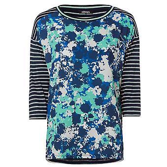 OLSEN Olsen Jasmine Green T-shirt 11103499