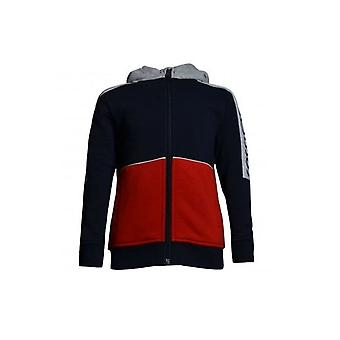 Hugo Boss Boys Hugo Boss Navy Grey Tracksuit Jacket